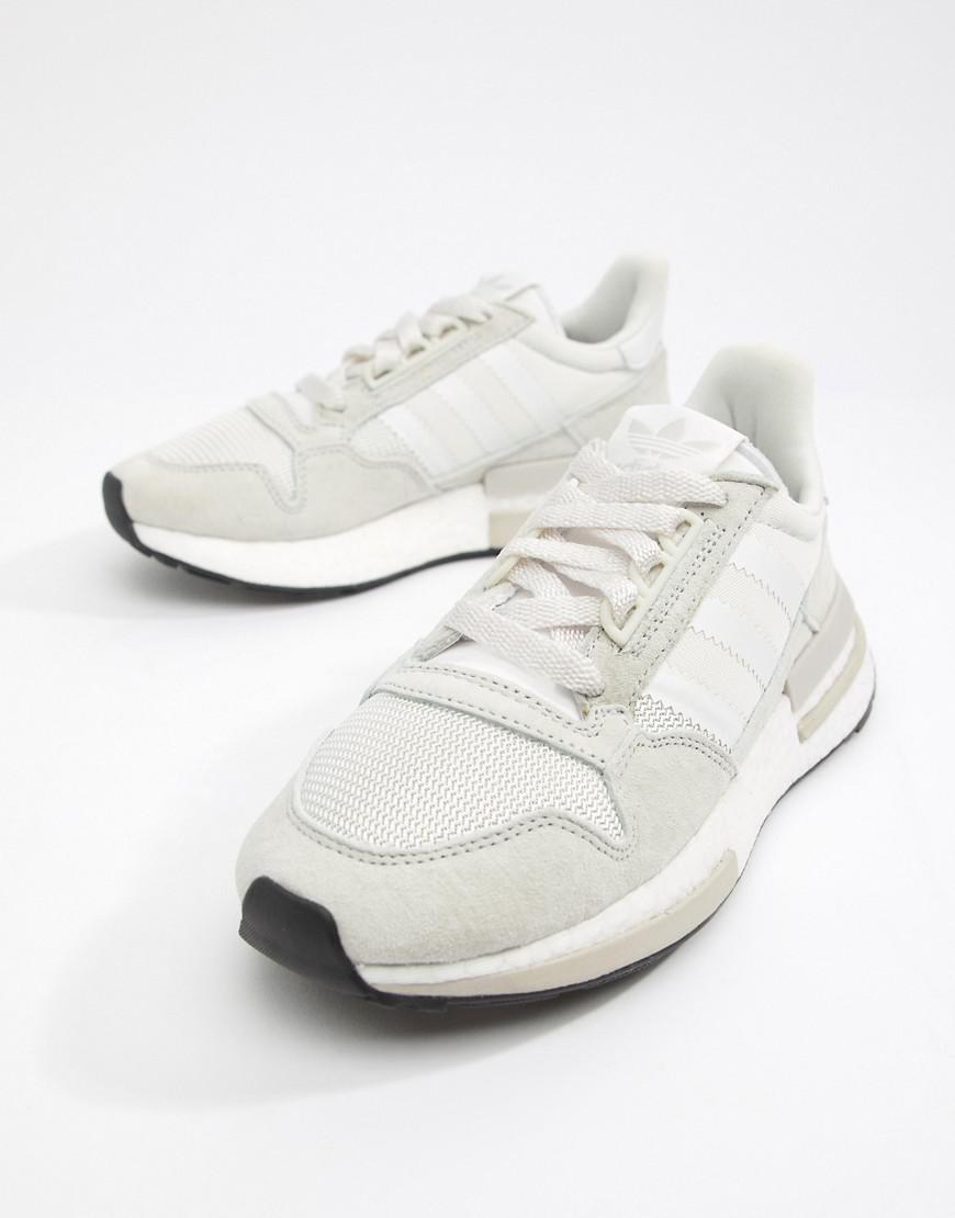 Lyst - adidas Originals Zx 500 Rm Sneakers In White in White ab2ac4fe99b88