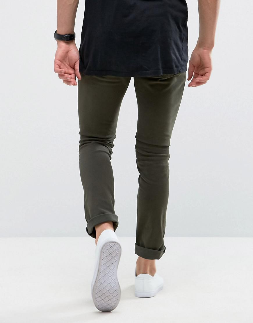 Loyalty and Faith Skinny Fit Jeans with Light Abbrasions in Stone - Stone Loyalty & Faith nvwz1