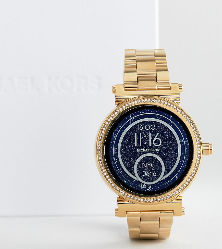 ea68bcc518 Michael Kors Access Mkt5021 Sofie Bracelet Smart Watch In Gold in ...