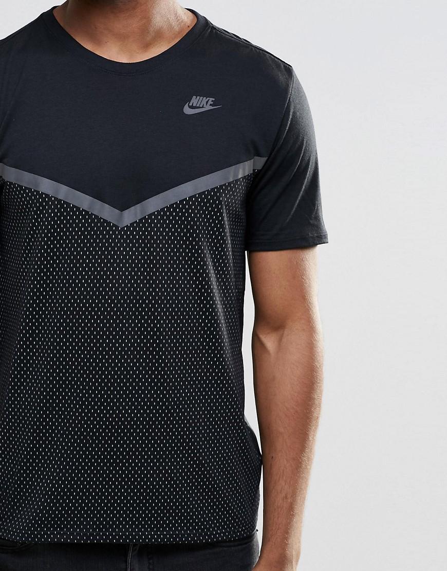 nouveaux soldes de la balance u420 - Nike Futura T-shirt With Mesh Panel In Black 779844-010 in Black ...