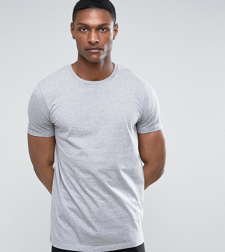 dfb19aabf202 Lyst - Asos Tall Longline T-shirt With Crew Neck in Gray for Men