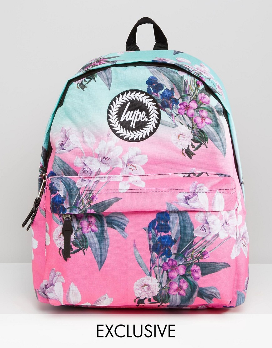 Lyst - Hype Ombre Floral Backpack