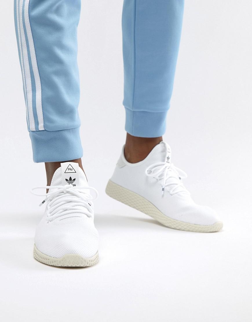 5b56d09cf adidas Originals Pw Tennis Hu Sneakers In White in White for Men - Lyst