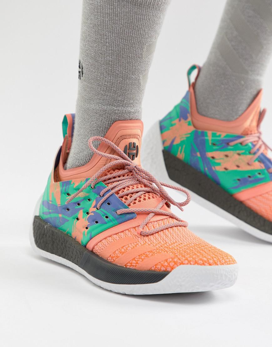 Lyst - adidas Basketball X Harden Vol 2 Graft Day Sneakers In Gray ... 70abb6111ff3