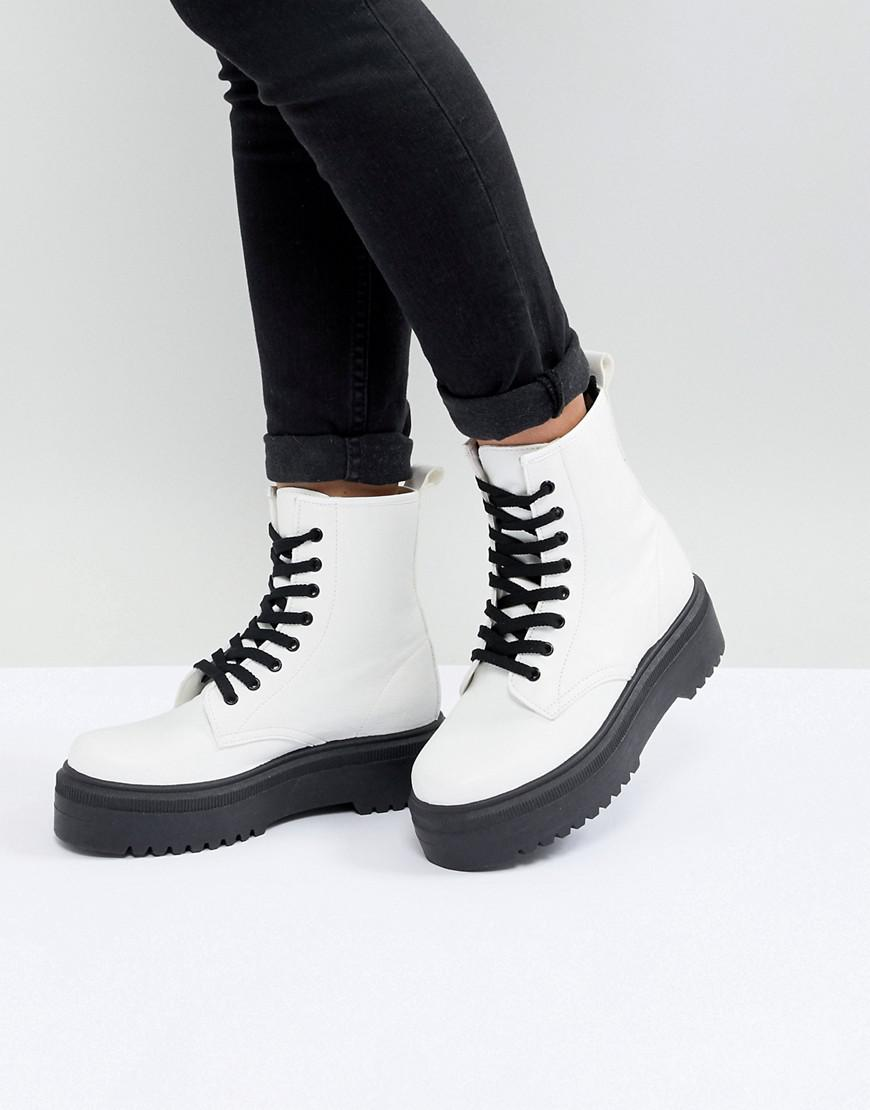 ASOS DESIGN Elm chunky lace up boots tuX4pUeD