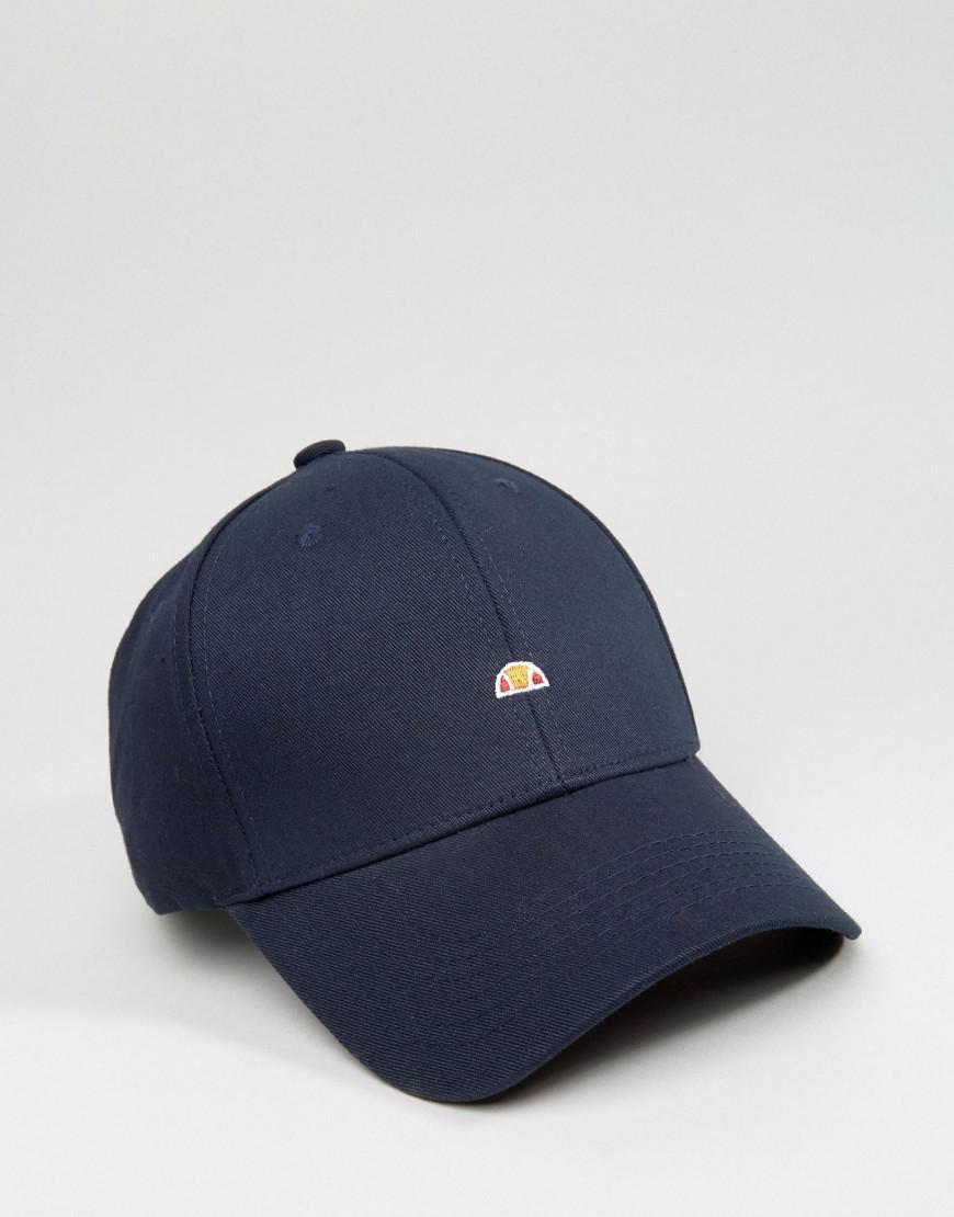 e7b20045 Ellesse Baseball Cap Small Logo in Blue for Men - Lyst