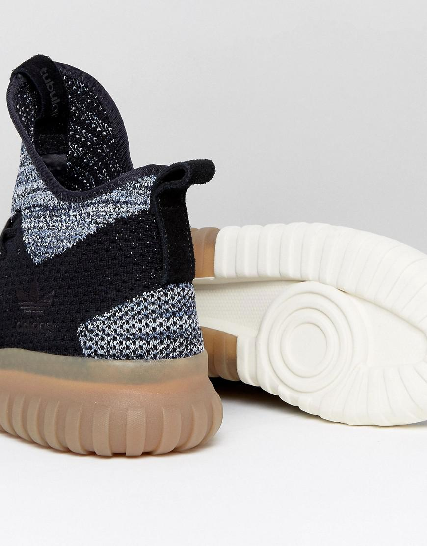 7a60206b185d Adidas Originals Tubular X Primeknit Sneakers In Black By 3145 ...