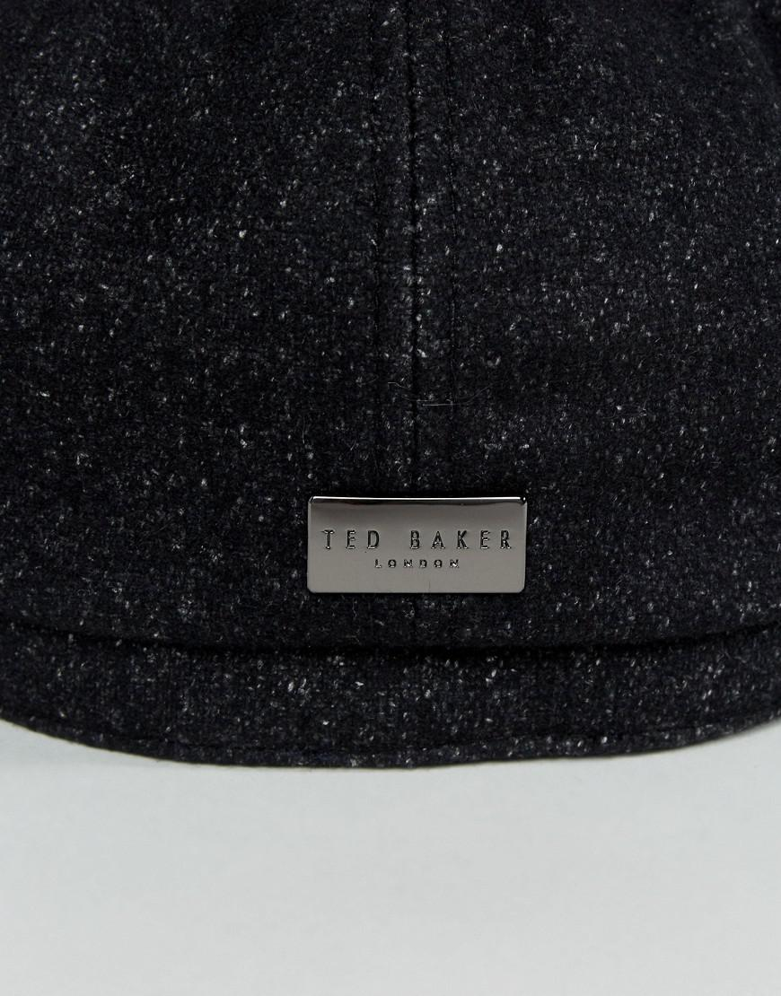 bd7af3a981fd9 Ted Baker Gleason Baker Boy Hat in Gray for Men - Lyst