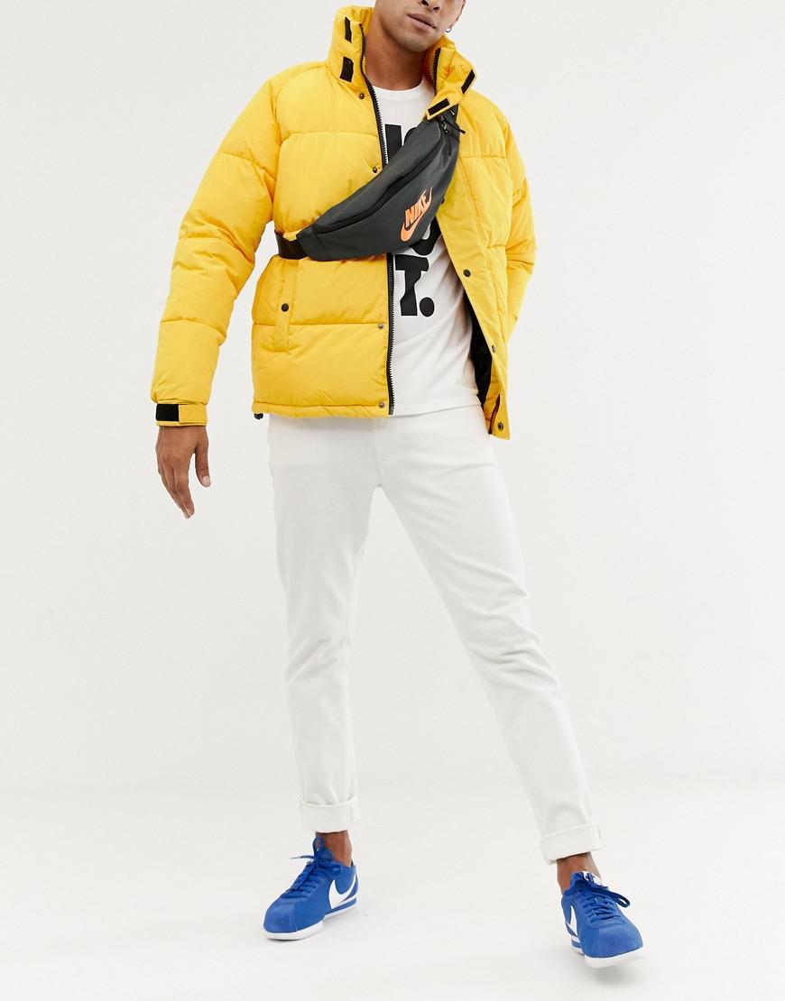 48d0bbb51977 Nike Logo Bum Bag In Grey Ba5750-060 in Gray for Men - Lyst