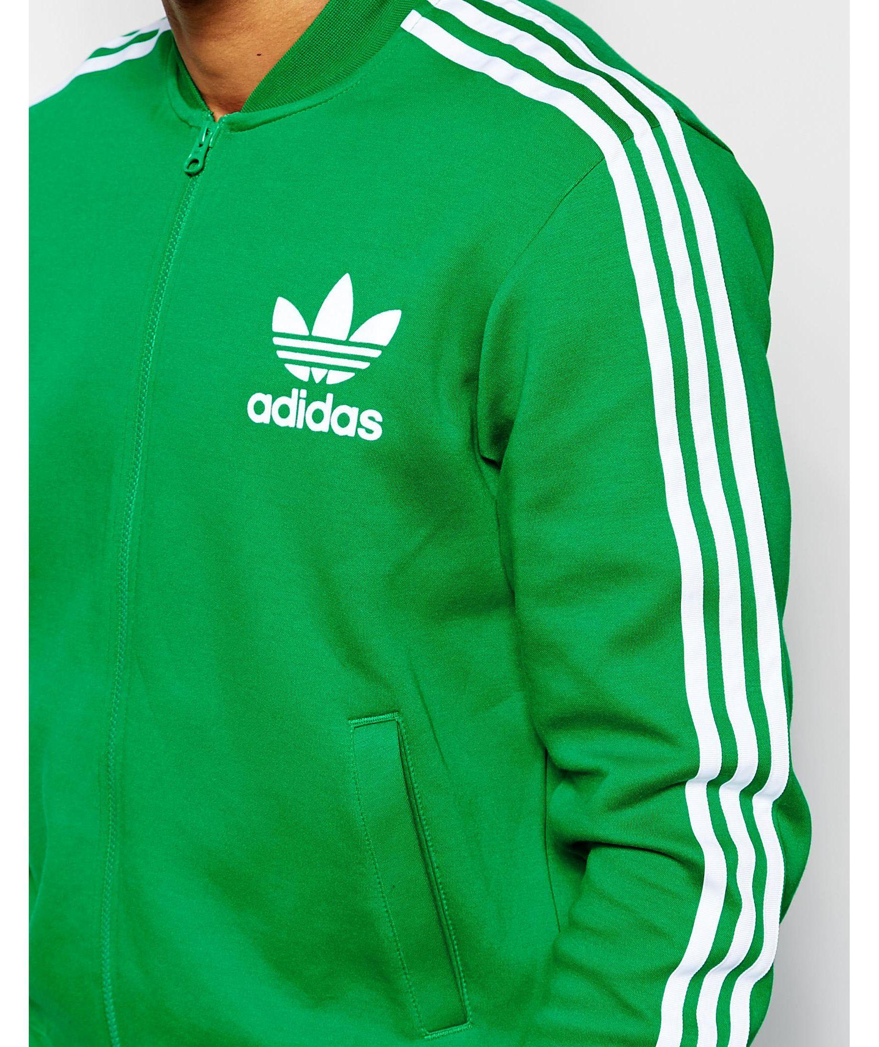Lyst Adidas Originals Adicolor Track Jacket In Green