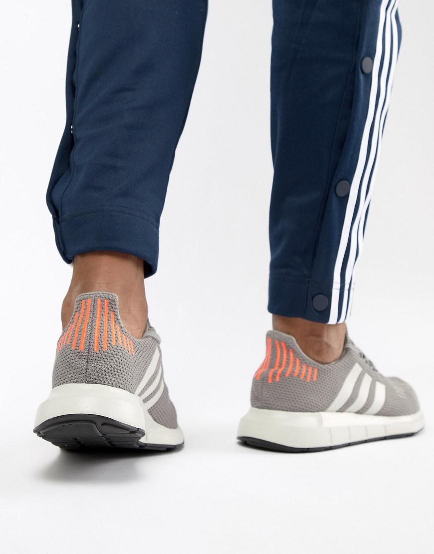 fa34292a3 Lyst - adidas Originals Swift Run Sneakers In Gray B37728 in Gray for Men