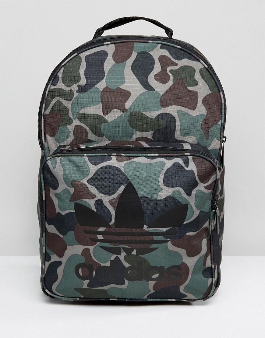 ... Lyst - Adidas Originals Classic Backpack In Camo Bq6084 in G the latest  6df53 93b9b ... ca33a6732f