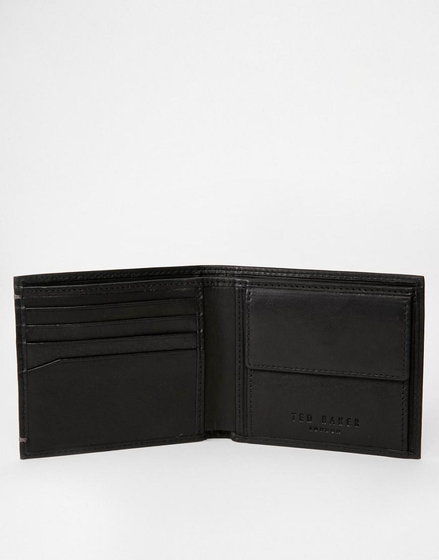 540b37794 Ted Baker Harvys Mens Leather Bifold Wallet With Coin Pocket - Best ...