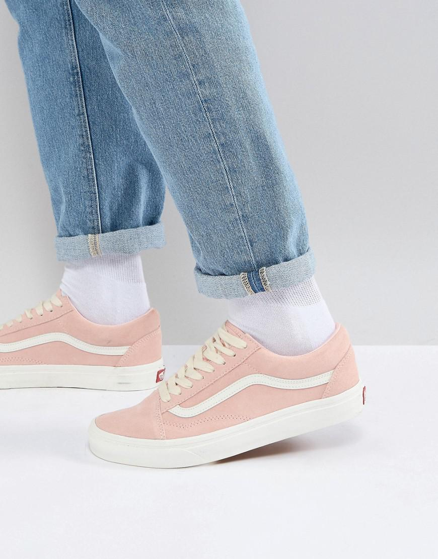e6d3a0dc13 Vans Old Skool Trainers In Pink Va38g1qsk in Pink for Men - Lyst