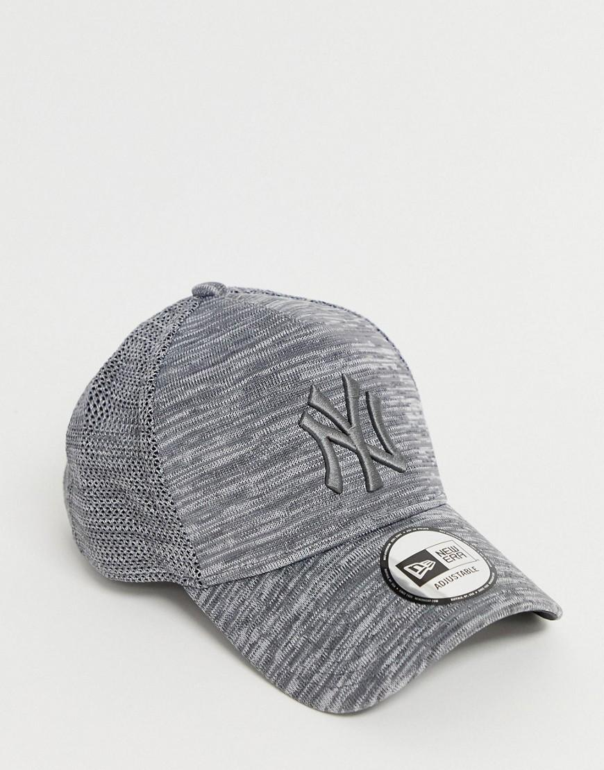 7e9f71e7ad9a08 KTZ 9forty Engineered Fit New York Yankess Adjustable Cap In Grey in Gray  for Men - Lyst