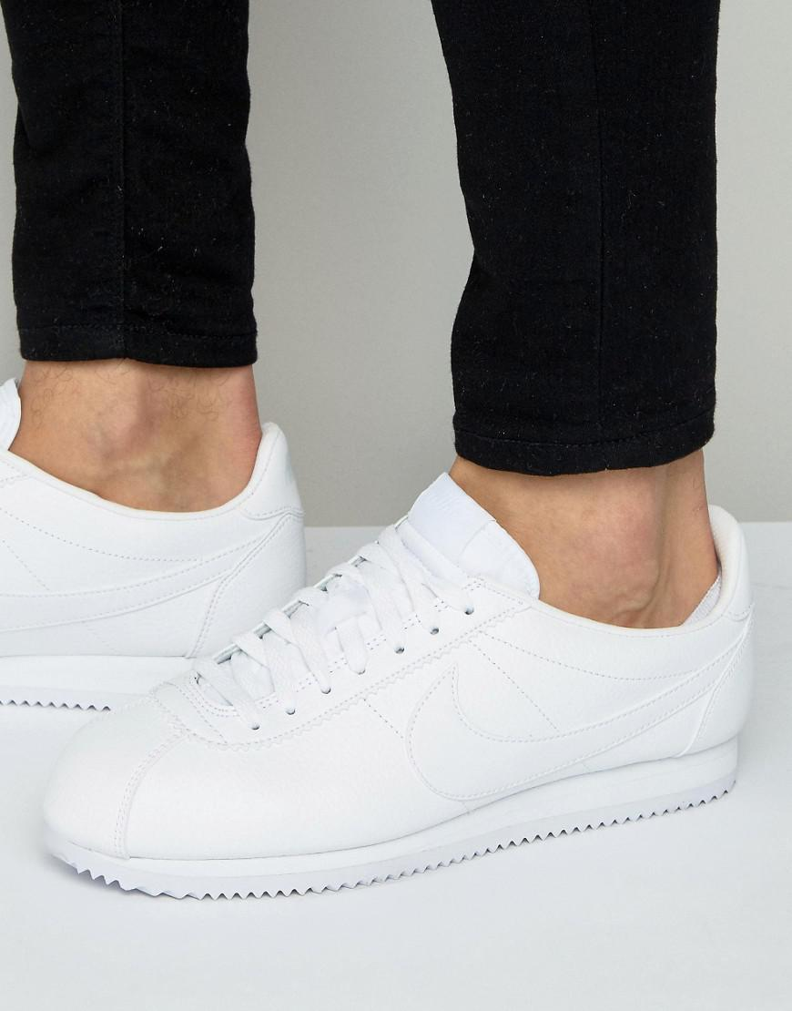 buy popular 9c6e6 5d560 ... denmark nike. mens classic cortez leather trainers a6029 354f4