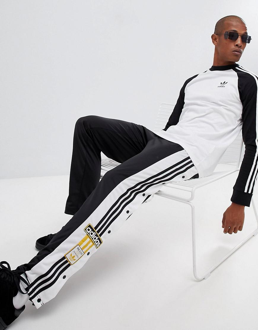 158eb36e9ea8 Lyst - Adibreak adidas Originals pour homme en coloris Noir