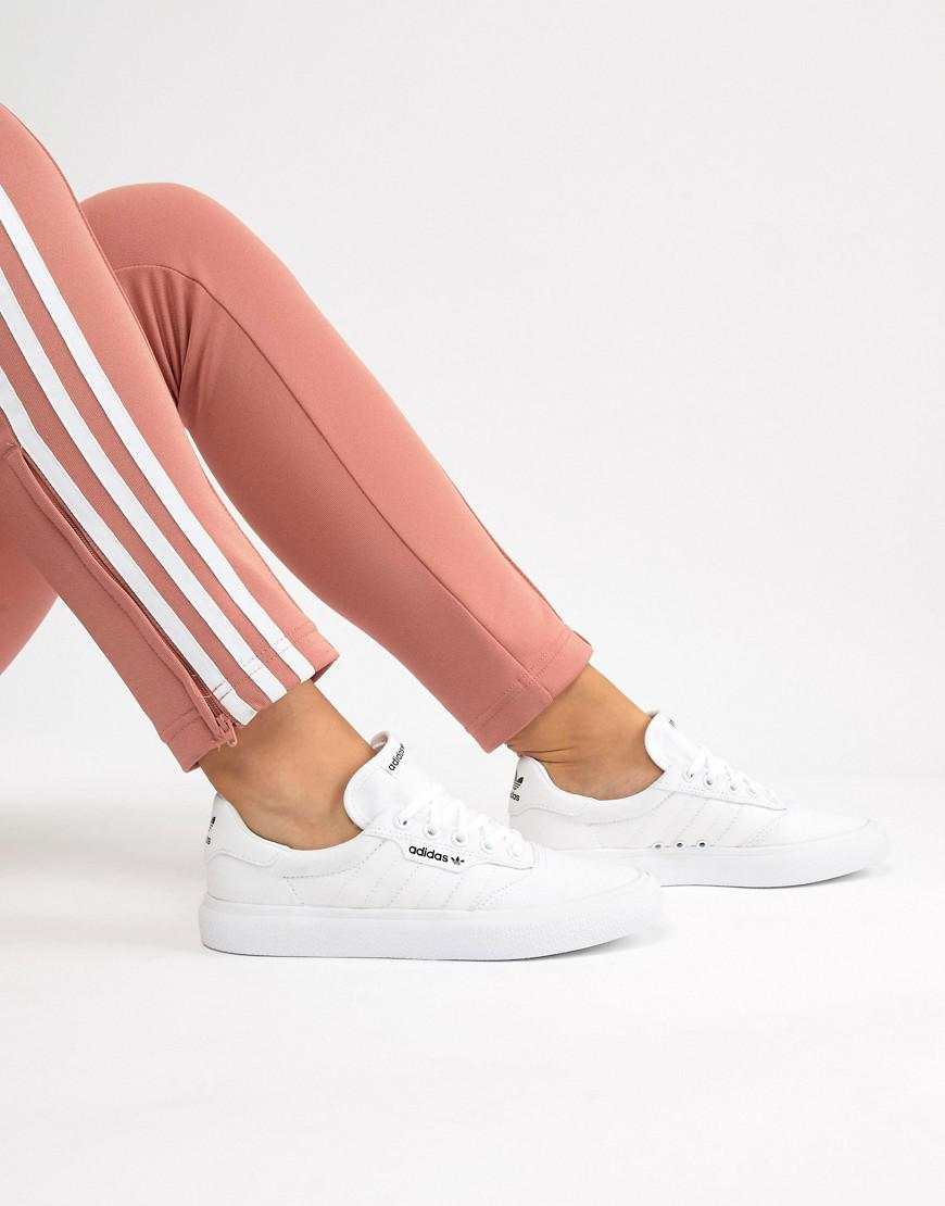 9ef7a078bd1044 adidas Originals 3mc Vulc Sneaker In White in White - Lyst