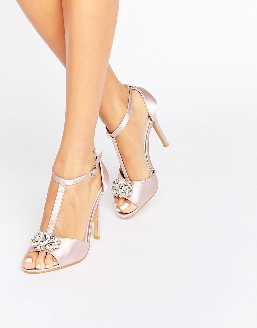True Decadence Embellished Block Heeled Sandals pKAXsxAy6N