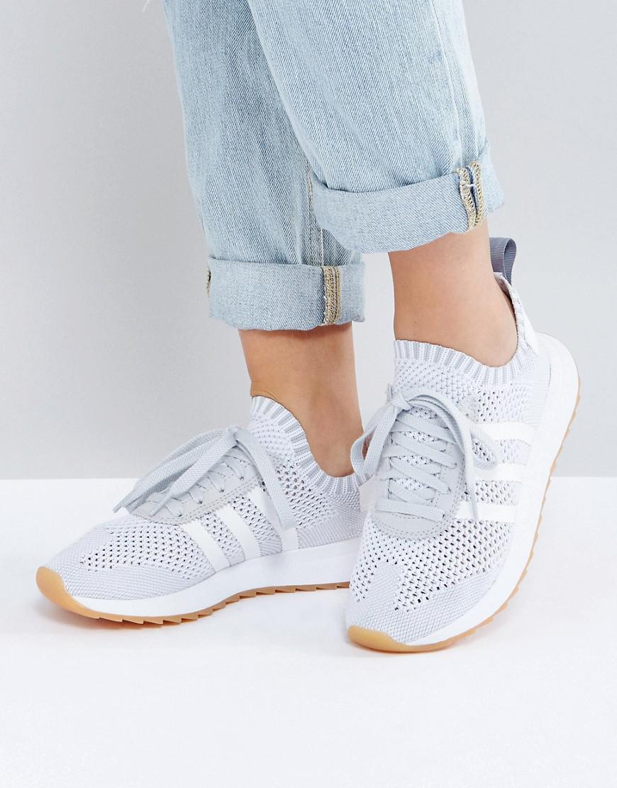 reputable site 09c5b cd6a2 ... aac6201 Lyst - Adidas Originals Originals Flb Primeknit Sneaker In G  79ff74a5 . ...