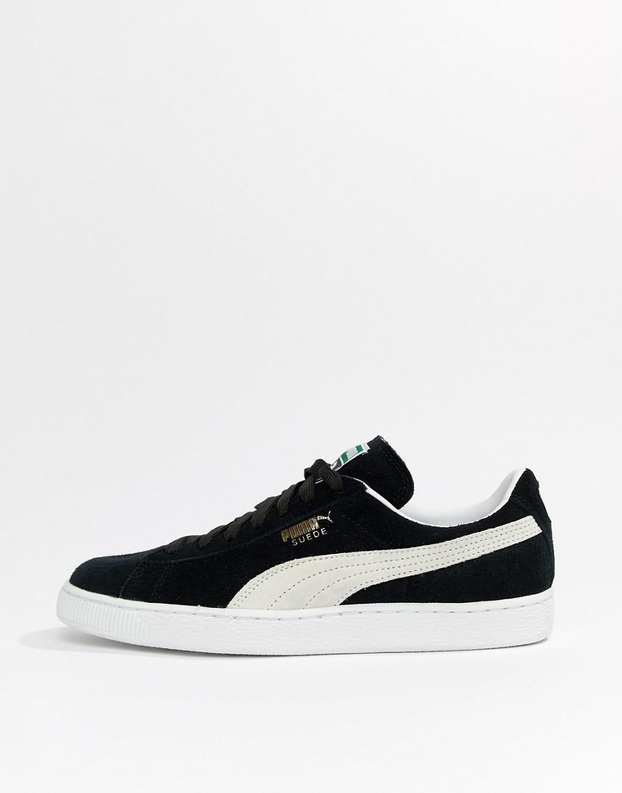 cfeb2223c861 Lyst - PUMA Suede Classic Sneakers In Black 35263403 in Black for Men