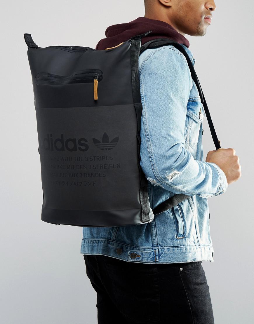 1baa5ffbea00 Lyst - adidas Originals Nmd Backpack In Black Bk6737 in Black for Men