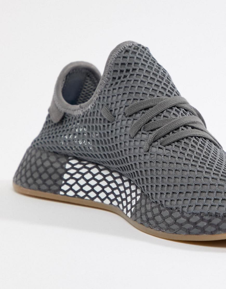 differently bd93b c9784 adidas Originals Deerupt Runner Trainers In Grey Cq2627 in Gray for Men -  Lyst