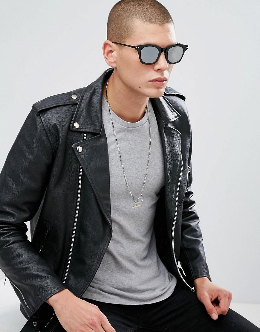 e34b7bcbd4 Spitfire Omnium Square Sunglasses In Black in Black for Men - Lyst