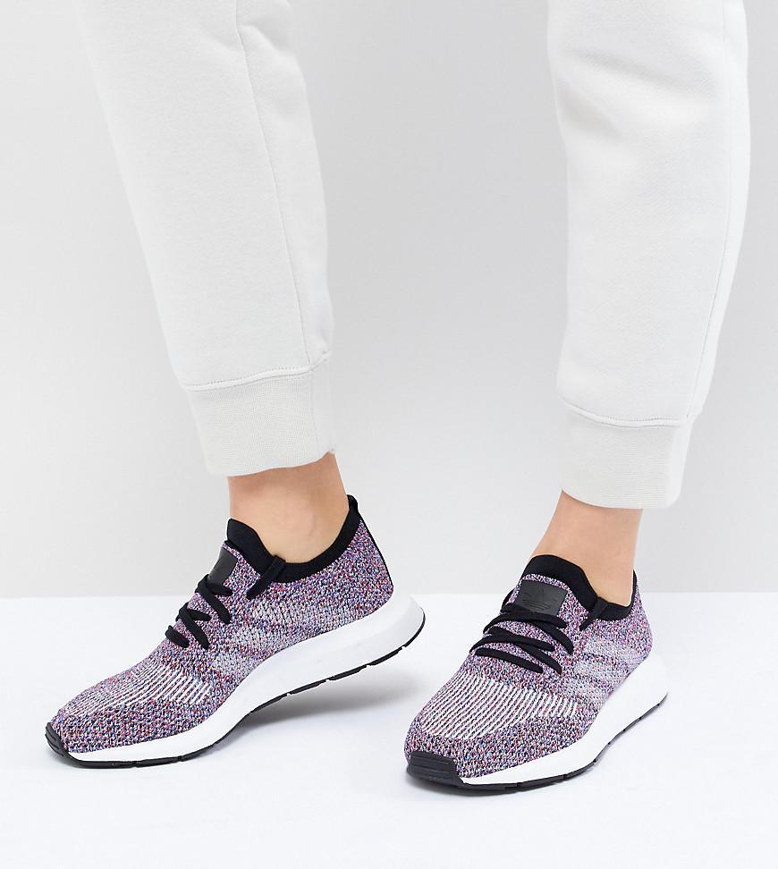 5ec59b5fc1d89 adidas Originals Swift Run Primeknit Sneakers In Multi in Black - Lyst