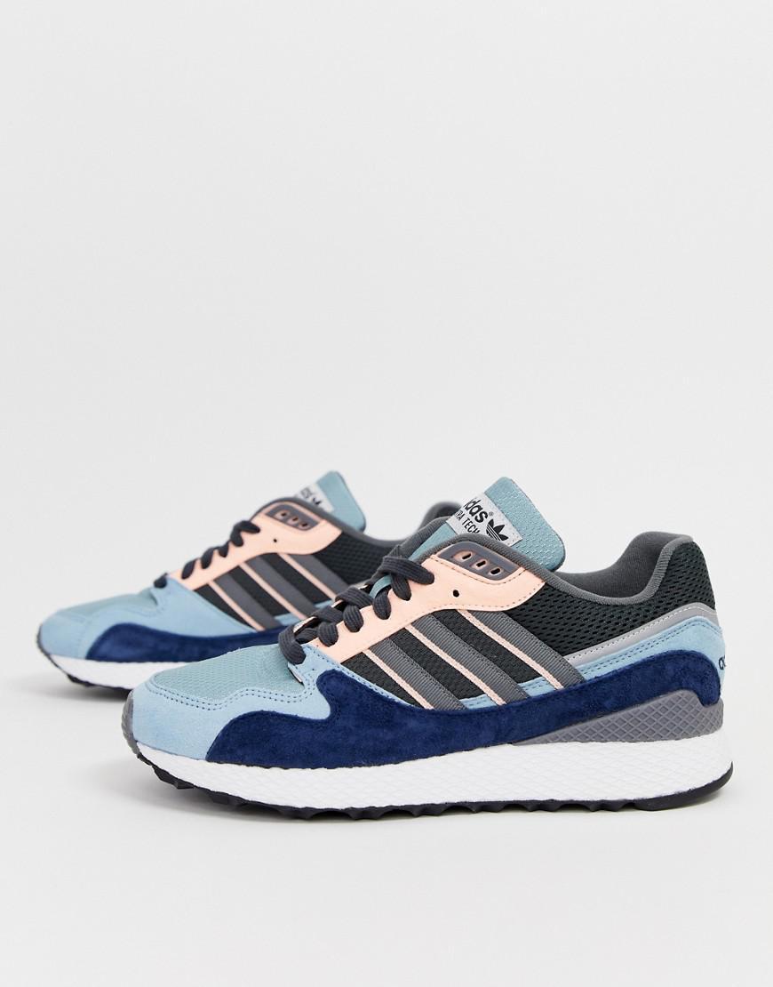 aa28f0380ba523 adidas Originals Ultra Tech Sneakers Bd7934 Blue in Blue for Men - Lyst