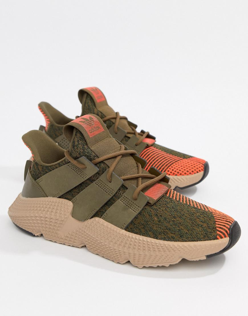 Prophere Trainers In Green CQ2127 - Green adidas Originals New Styles Cheap Online Wfbx183AC