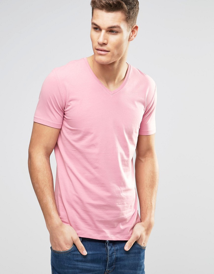 Hanes Men's V-Neck. Our v-neck t-shirts are available in a variety of colors and are made with our premium ring-spun cotton for added comfort. Available in contemporary styling for a slimmer fit and a narrow, ribbed collar for a more polished look, you'll find our v-neck .