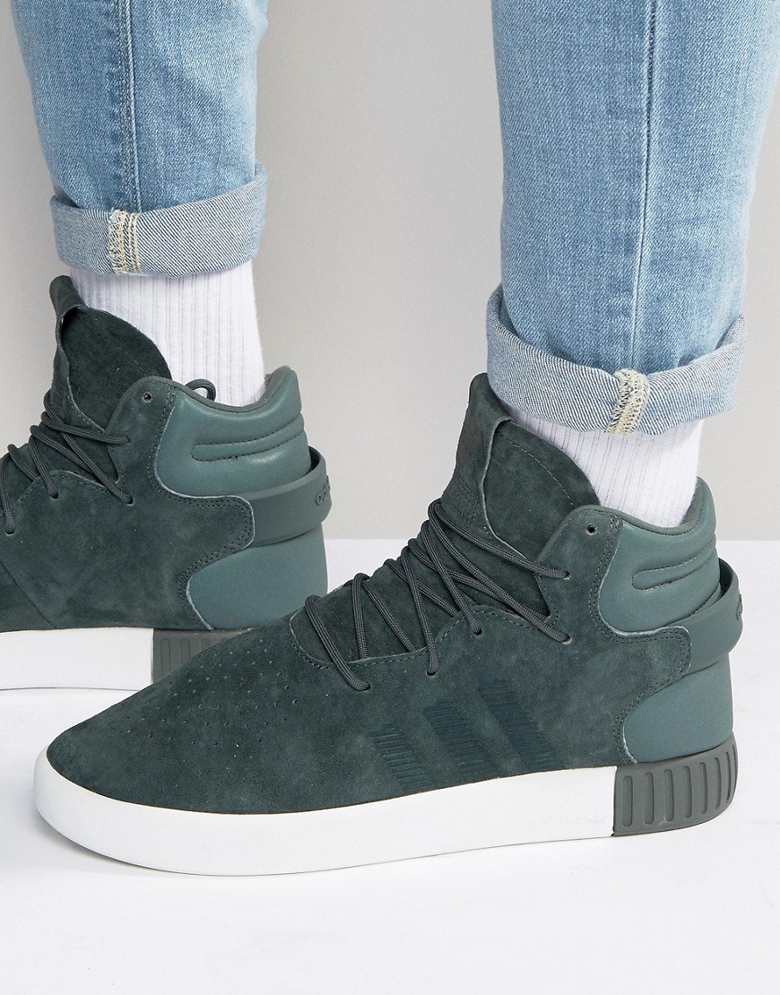 Adidas Tubular Invader Green