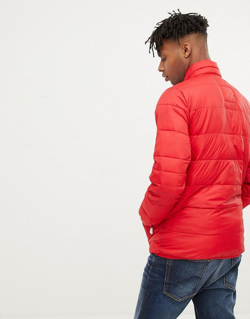 fb7f8e241e04e7 Lyst - Jack   Jones Originals Puffer Jacket in Red for Men