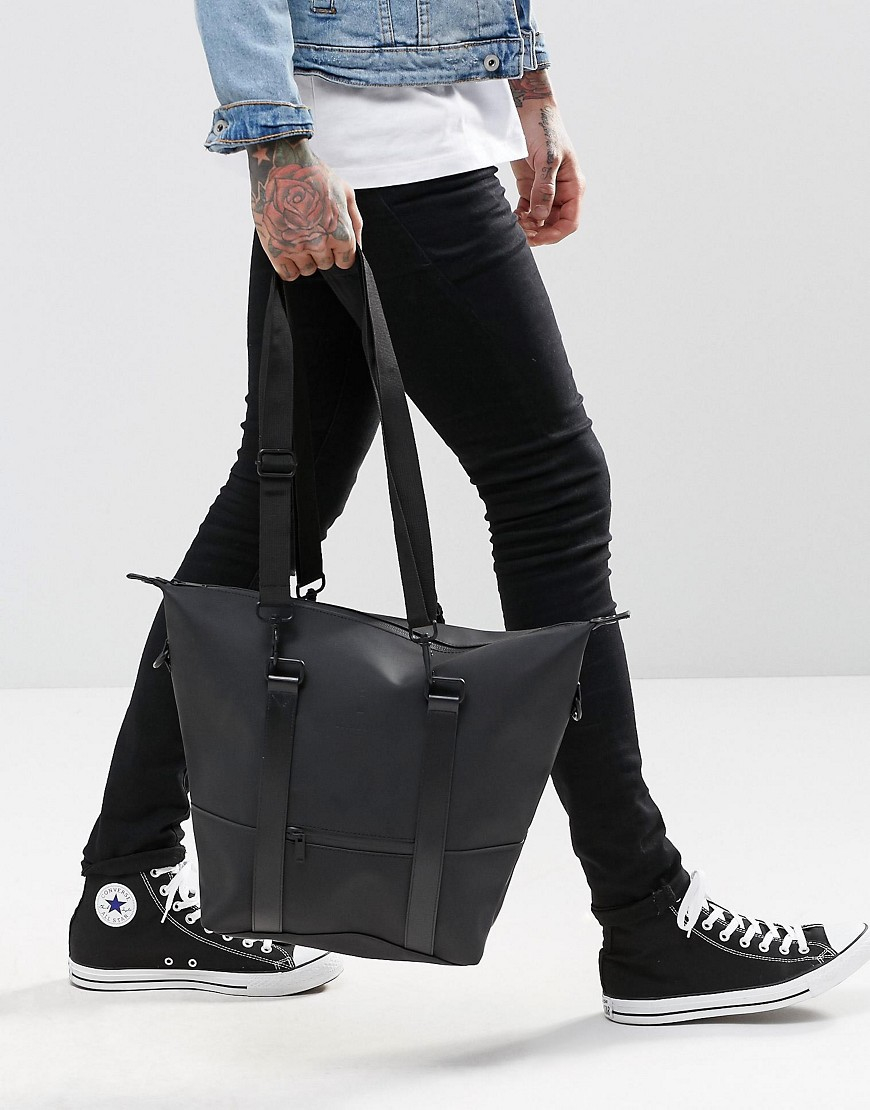 336e06f8d65 Lyst - Rains City Bag In Black - Black in Black for Men