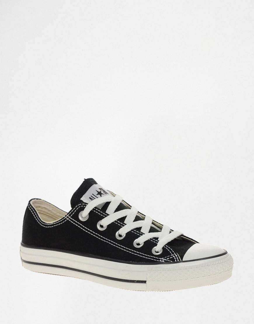 d50373afcef7 Lyst - Converse Chuck Taylor All Star Core Black Ox Trainers in Black