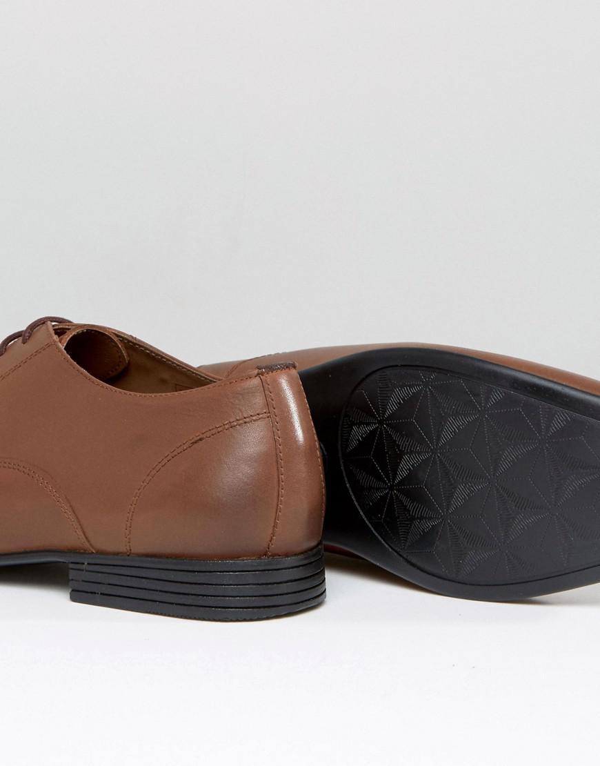 Kg Par Kurt Geiger Coupe Large Kaden Chaussures À Lacets - Marron 5SoTe0