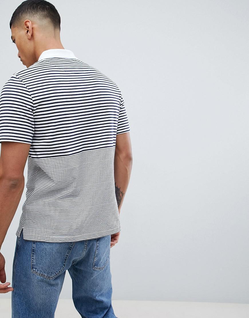 728f20d3528 Lyle   Scott Stripe Polo Shirt in Blue for Men - Lyst