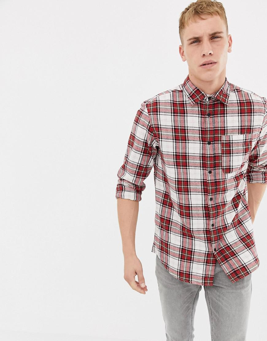 85df36cd657 Men's Red Originals Shirt In Regular Fit Check Cotton