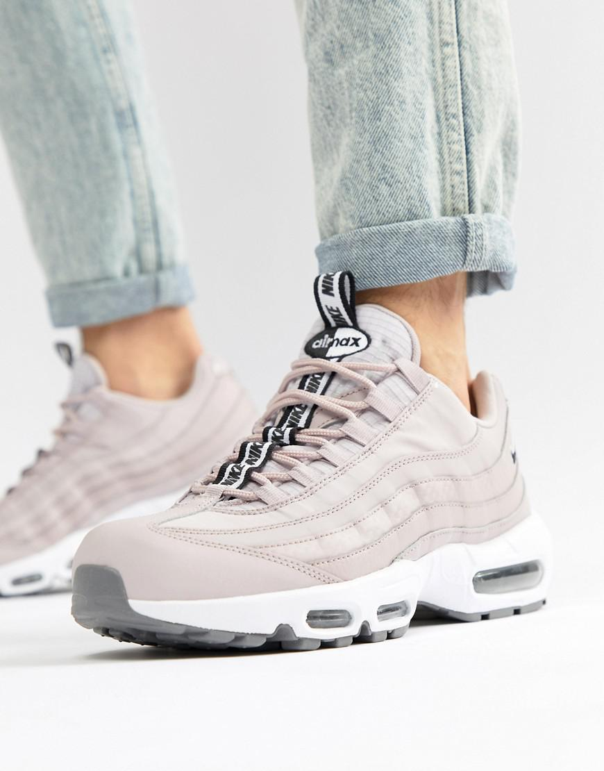 2f9aa7d1c Nike Air Max 95 Se Trainers In Pink Aq4129-600 in Pink for Men - Lyst
