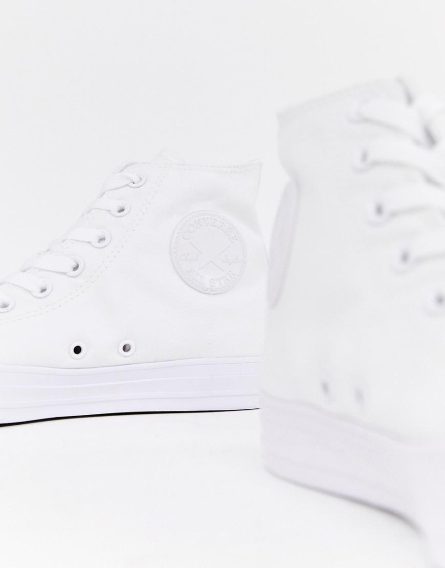 Lyst - Converse Chuck Taylor All Star Hi Plimsolls In White 1u646 in White  for Men a90f488c1