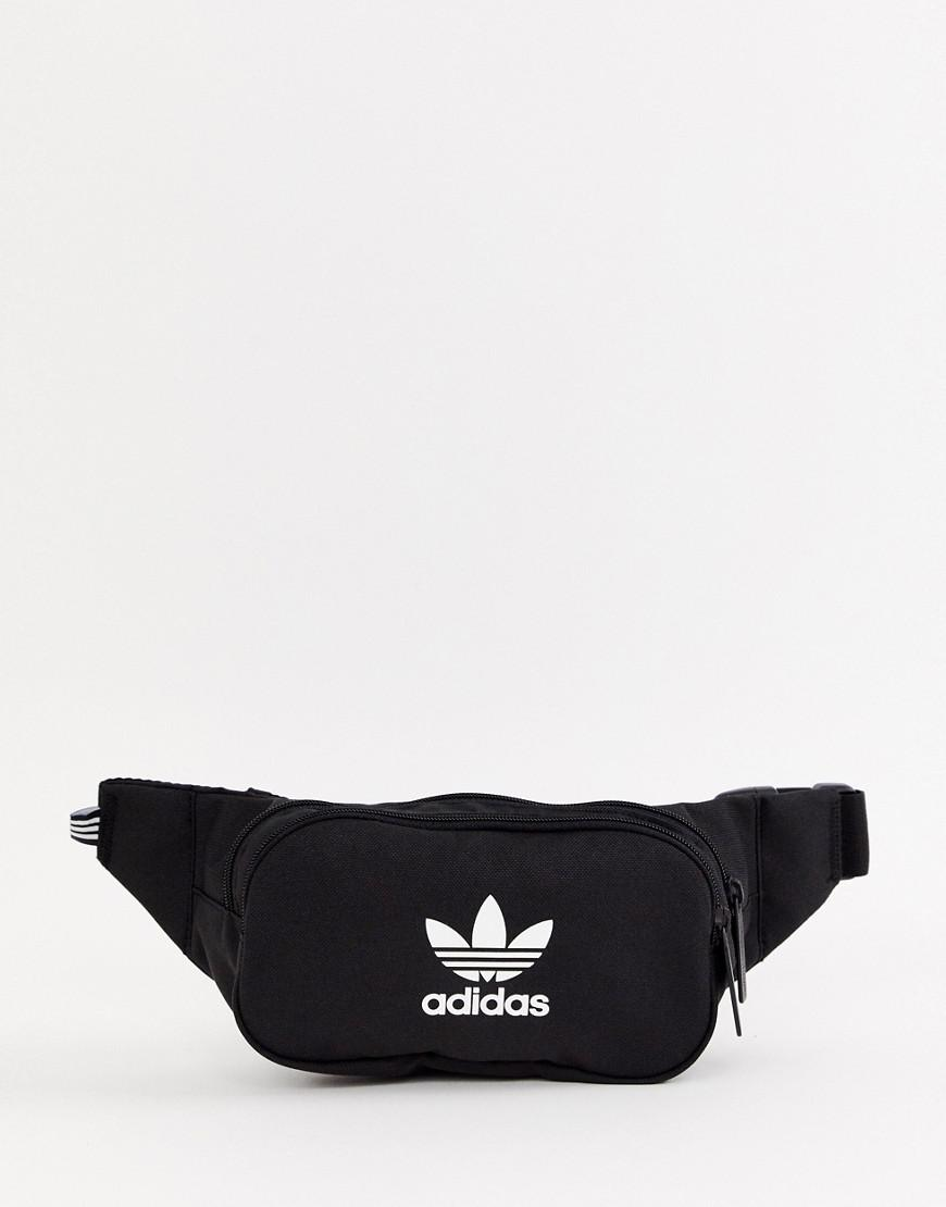 adidas Originals Trefoil Bumbag In Black in Black - Lyst 4f5a5297129f2
