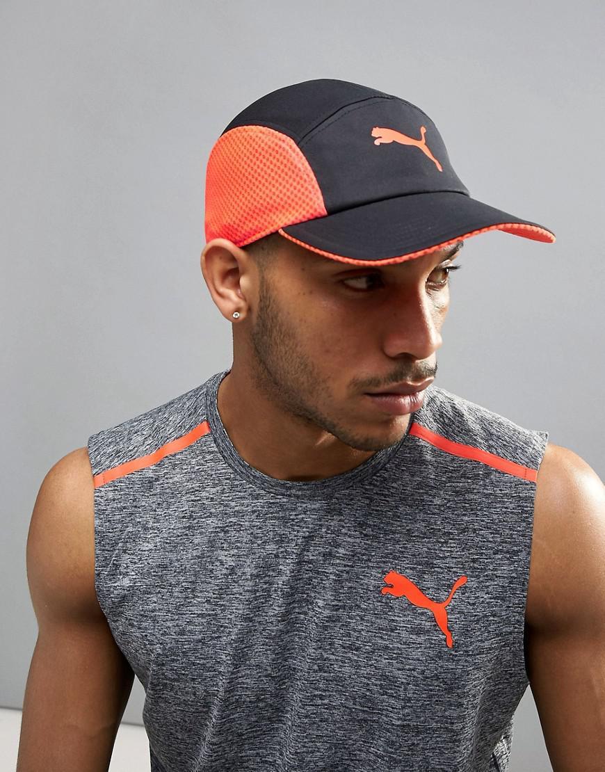 Lyst - PUMA Disc Fit Runners Cap in Black for Men 7c524ec229b