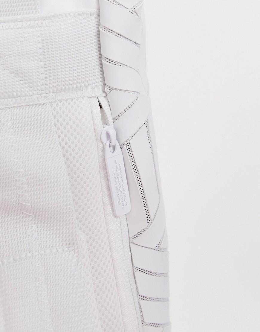 6528443485 Lyst - adidas Originals Geometric 3d Roll Top Backpack in Black