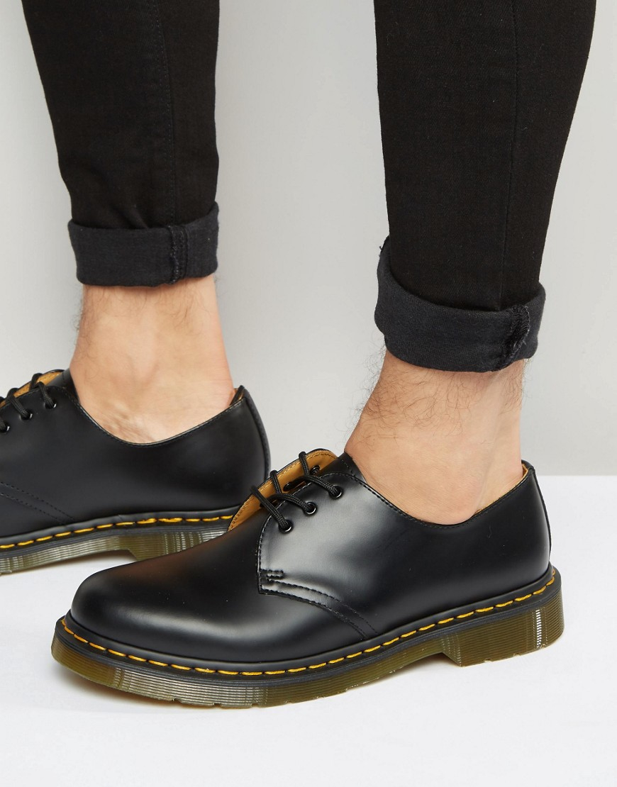 Stretch Leather Shoes Martens
