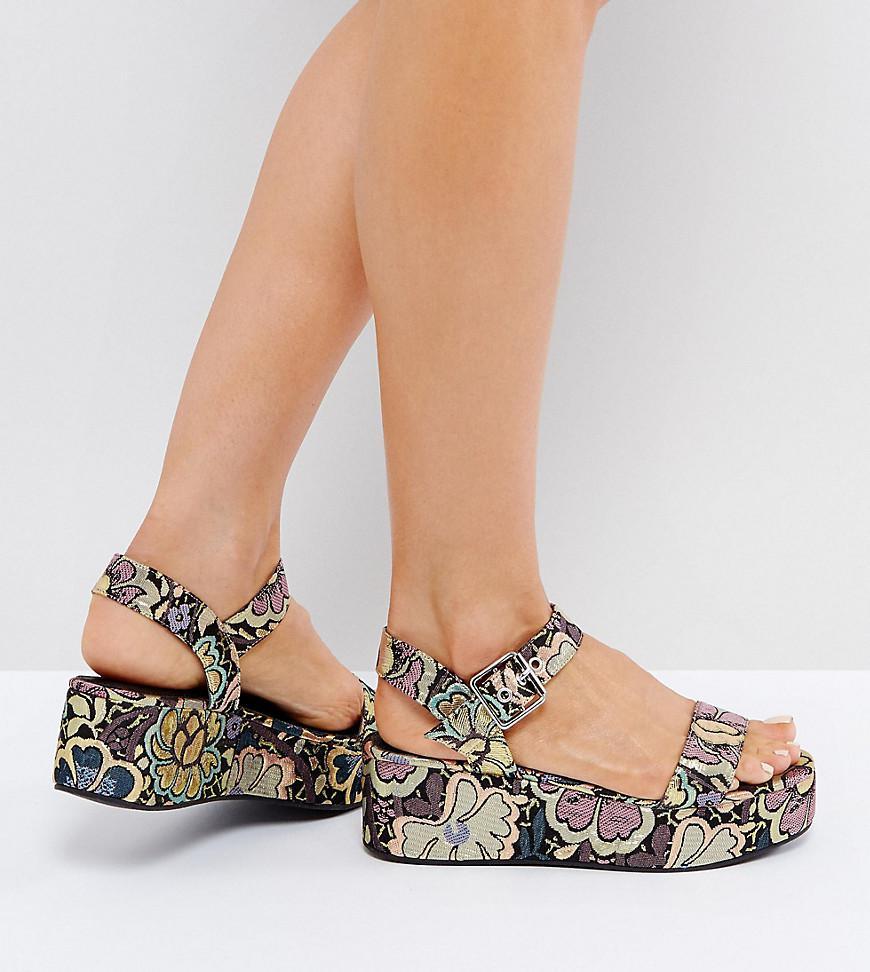 0b432e0905c9 Lyst - ASOS Toucan Wedge Sandals