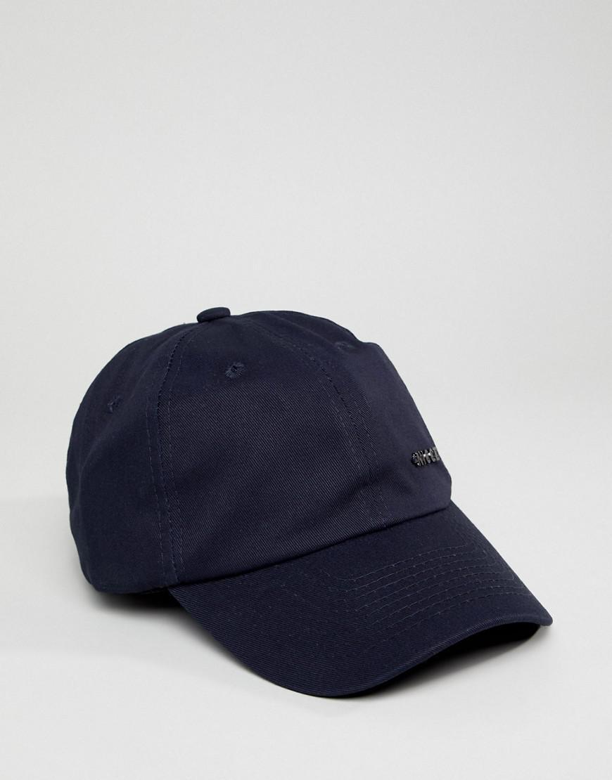 b91035a4bb6 Lyst - Nicce London Nicce Metal Logo Baseball Cap in Blue for Men