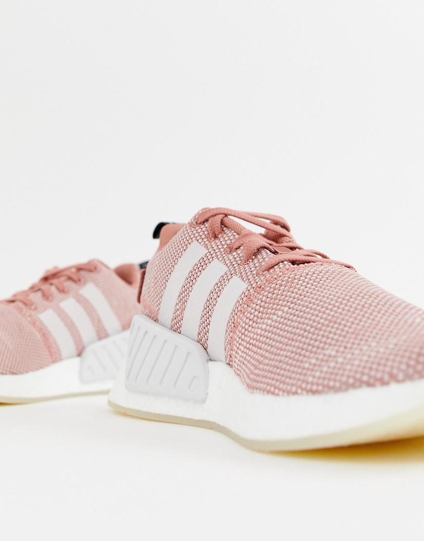 4b9ef0656af74 adidas Originals Addias Originals Nmd R2 Sneakers in Pink - Lyst