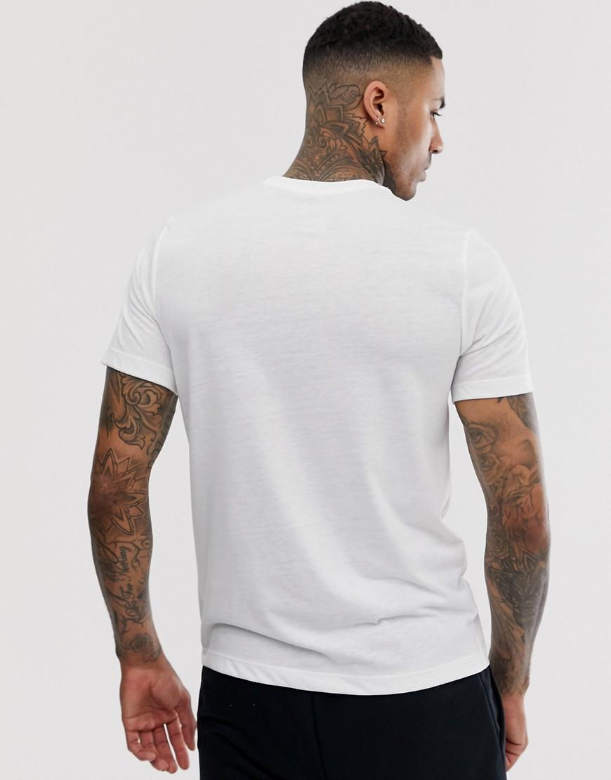 3f6771ee Nike Dri-fit Athlete T-shirt In White in White for Men - Lyst