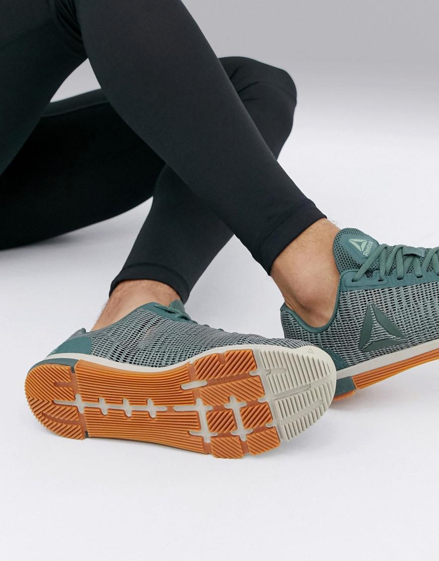 b0f2fa121b0 Reebok. Green Crossfit(r) Nano 8.0 (tin Grey shark lemon Zest ash Grey white)  Men s Cross Training Shoes